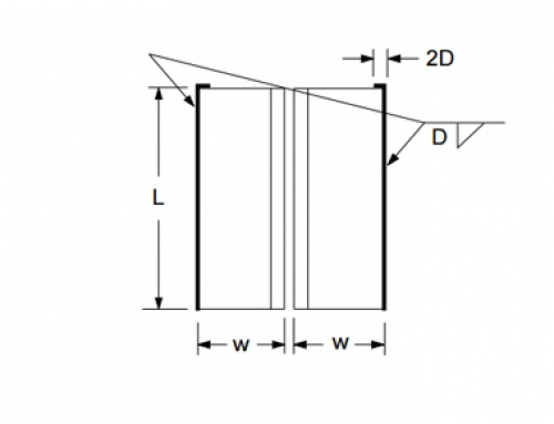 Welded Double Angle Beam Connection
